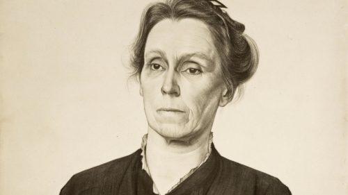Droom & Daad_ portret H. Roland Holst, portret van De Clerq