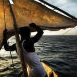 Wavumba_Juma sailing, photo by Jeroen van Velzen