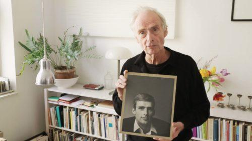 Rolf Orthel met foto